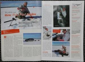 Sidan 1 och sidan 2 i artikeln med mig..